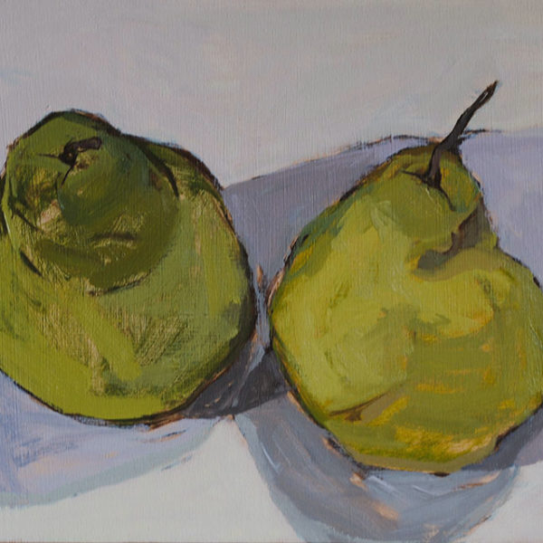 Pears, 12 x 16 in, Oil on Canvas, 2014